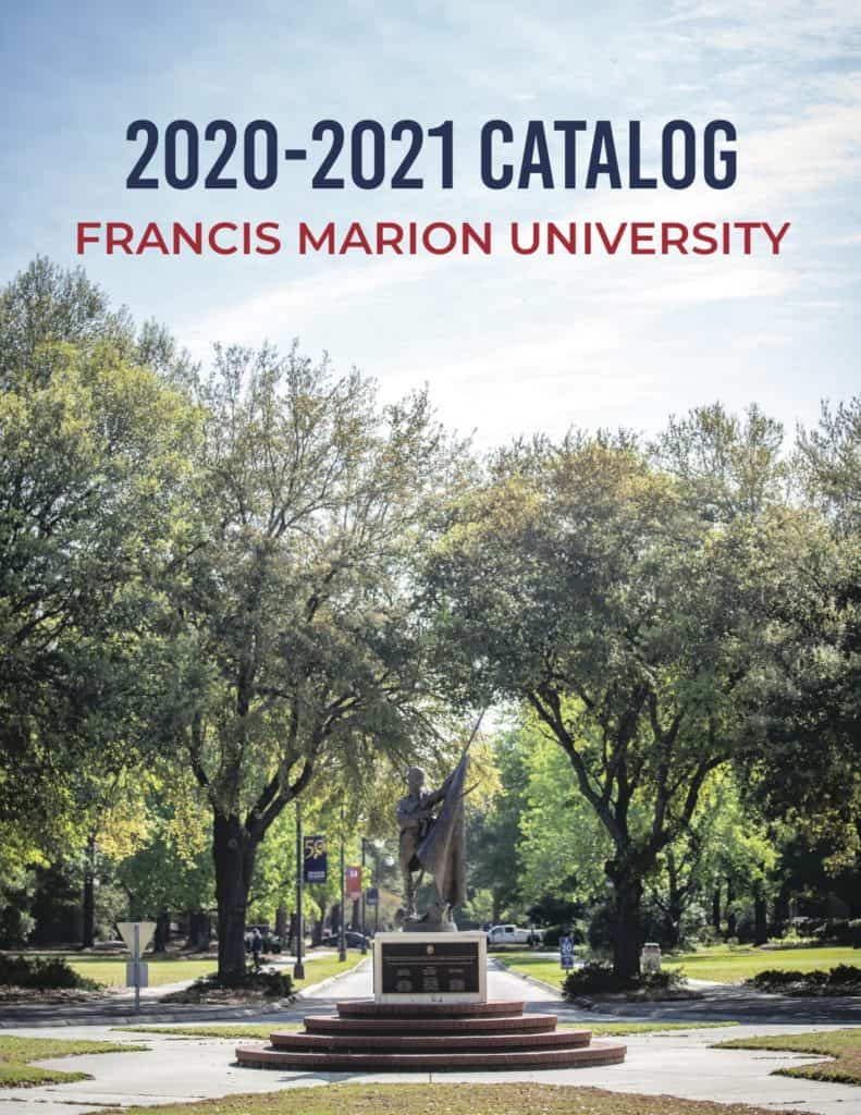 Cover of the 2020-2021 FMU catalogue