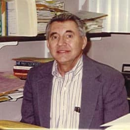 Photo of professor Clayton