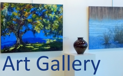 "Gallery Series: Abstract Works by Colin McNaught; ""Wonky Ground"" Ceramics by Kelly King"