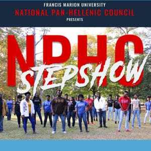 National Pan-Hellenic Council Step Show @ Francis Marion University Performing Arts Center | Florence | South Carolina | United States