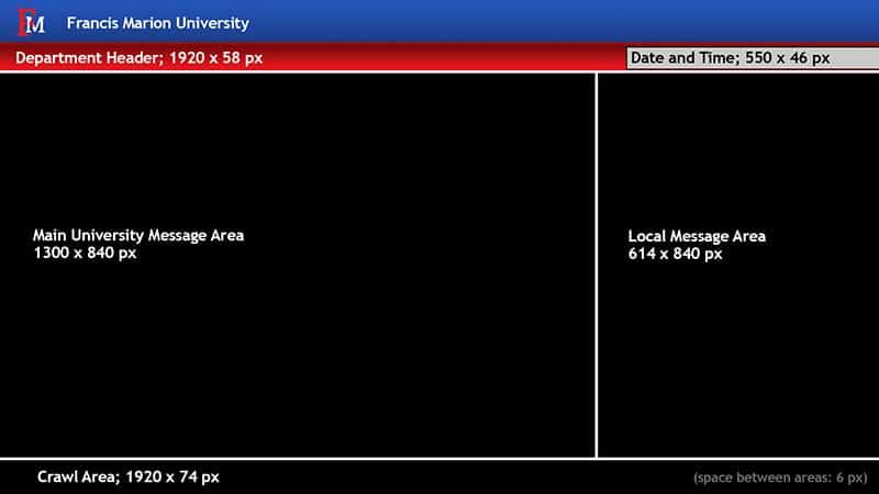 Digital Signage Template Screenshot