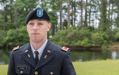 Mission accomplished: Grad goes from FMU to U.S. Army officer