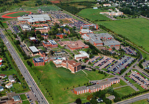 Overview of a campus