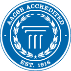 The School of Business is accredited by AACSB International
