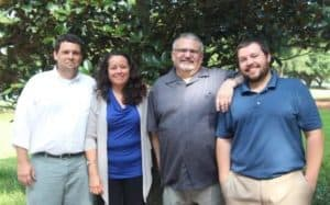 Four new faculty members for the 2017-2018 school year
