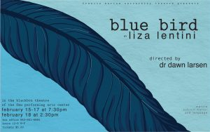 Flier for FMU Theatre's presentation of Blue Bird