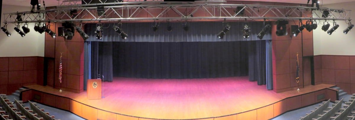 Chapman Auditorium Stage Lights