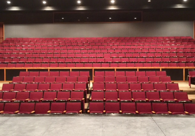 Seating at Francis Marion University Fine Arts Theatre
