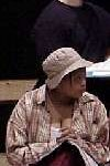 Cropped photo of Chalk Circle performer
