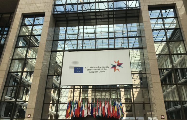 Sign of 2017 Maltese Presidency of the Council of European Union