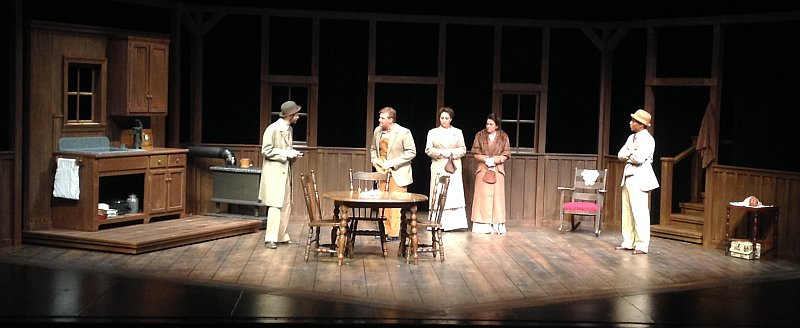 In Glaspell's play,