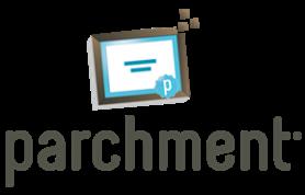 Online transcript request through parchment