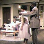 Students performing A Raisin in the Sun