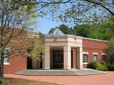 Front of J. Howard Stokes Administration Building