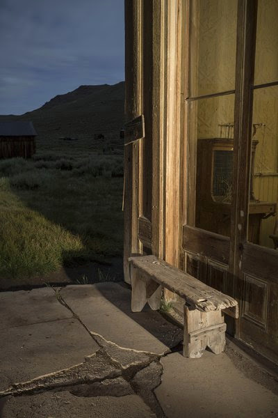 painting of Centuries Perch, Bodie Ghost Town by Julie Mixon