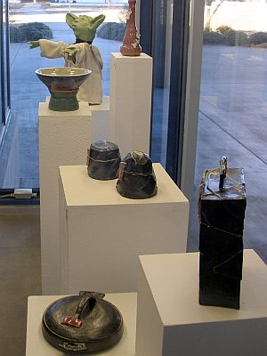 Ceramic art in the Fine Arts Center