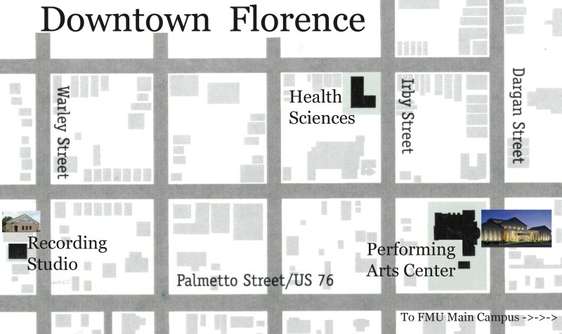 Map of Downtown Florence