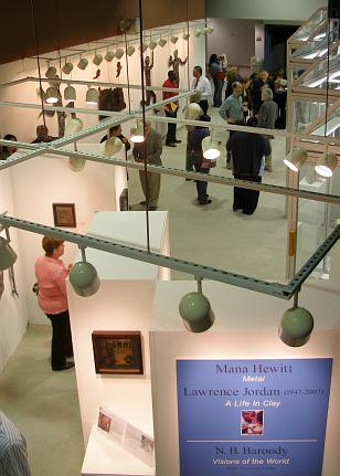 Overview of Kassab Art gallery during Senior Show