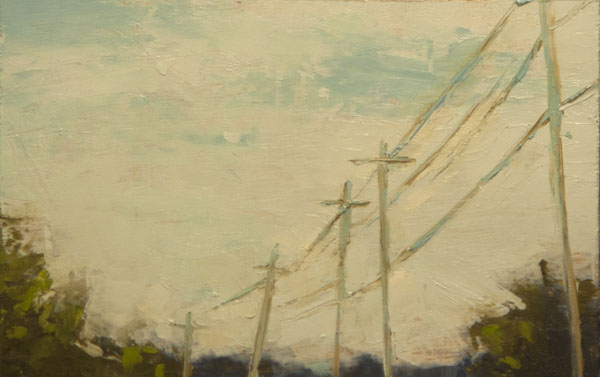 Painting of From the Edge by Mary Bentz Gilkerson