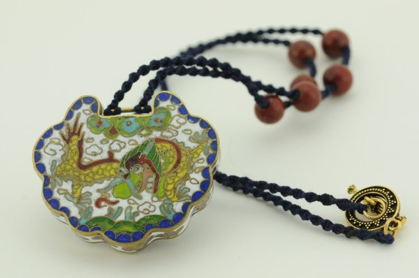 Necklace artwork by Sara Cogswell