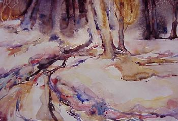 Snow Shadows by Barbara Terry