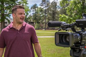 Lights, camera, preparation! Grad says FMU education has left him ready for Hollywood and more