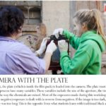 Loading the camera with the plate excerpt