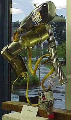 3-D Project by Derek Lutz in Fine Arts Center