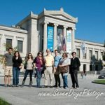 Students in front of Museum of Fine Arts - Boston