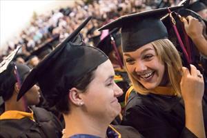 Flannagan tells FMU grads to enjoy the moment