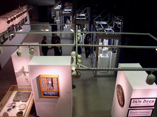 Overview of Fine Arts Center gallery series