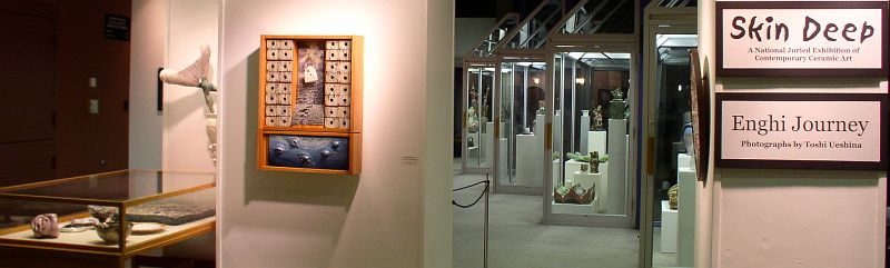 Photo of Skin Deep: A National Juried Exhibition of Contemporary Ceramic Art