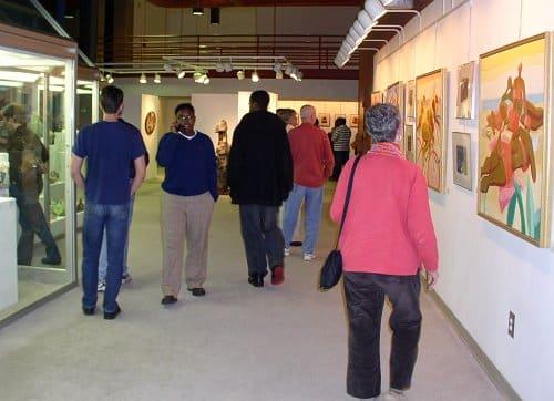 Photo of Tonya Gregg and Skin Deep Exhibits