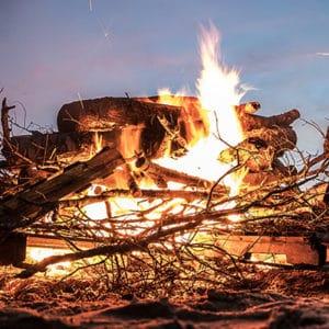 Bonfire - Pep Rally @ Behind the UC