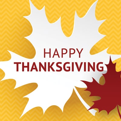 Thanksgiving Holiday – University Closed