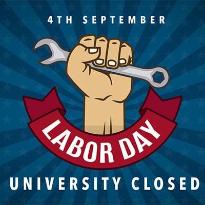Labor Day – University Closed