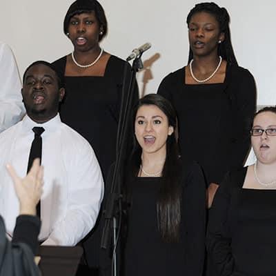 Fine Arts – Francis Marion University Concert Choir and Cut Time Show Choir, Dr. Fran Coleman, director