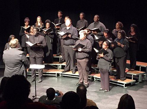 FMU Concert Choir performing