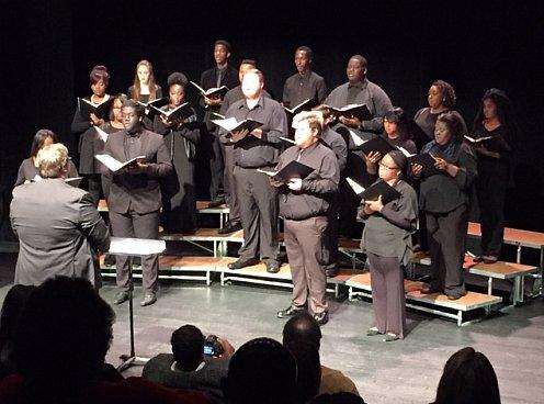 FMU Concert Choir performing