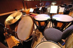 Instruments in FMU Percussion Ensemble