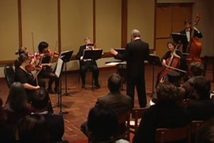 FMU String Ensemble performing
