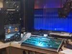 Fine Arts Chapman Auditorium sound booth