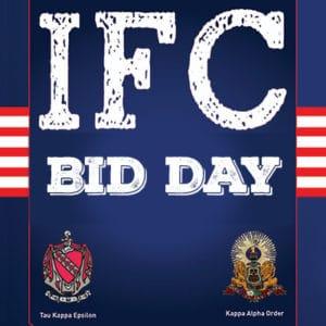 IFC Spring Recruitment - Bid Day @ University Center 218 & 219
