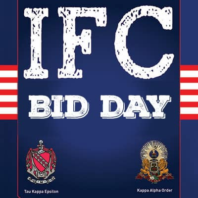 IFC Spring Recruitment – Bid Day