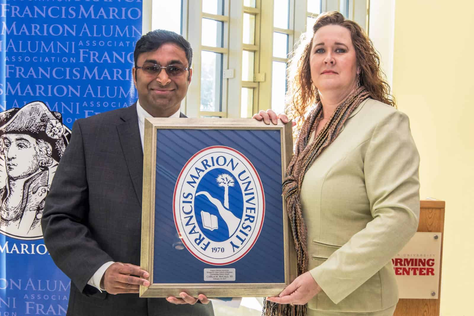 FMU School of Business honors McCall with alumni award
