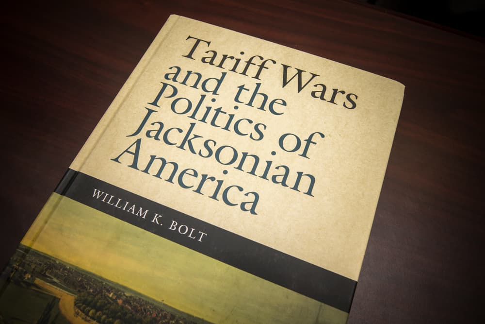 FMU History professor pens book on the high tensions of tariffs