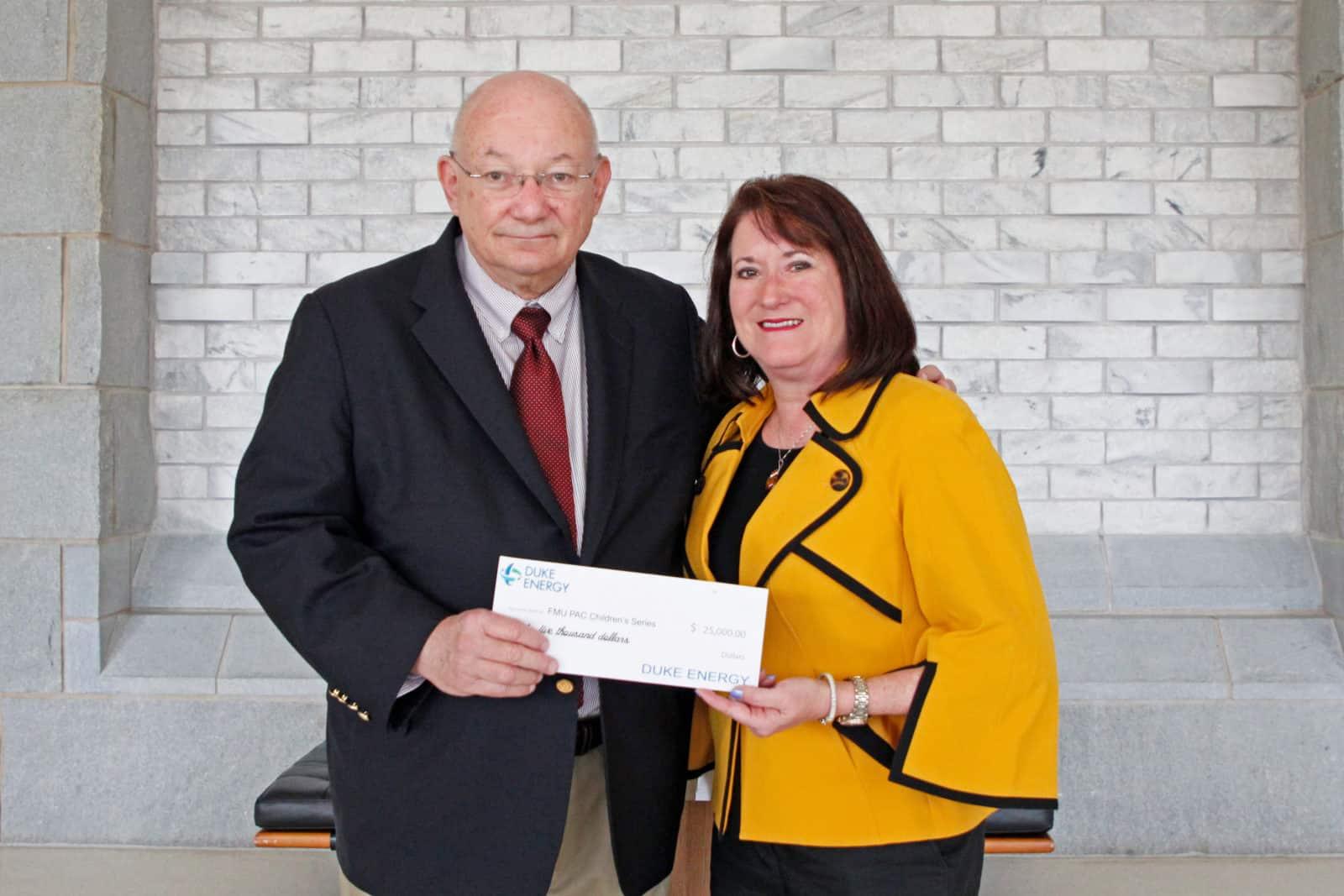 Duke Energy's support for PAC, Children's Series tops $100,000