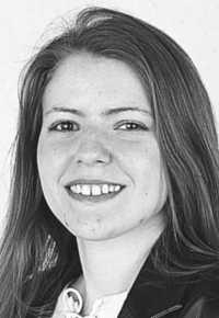 Black and white photo of Lisa Chalian-Rock