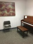 FMU Music Practice Room with Piano