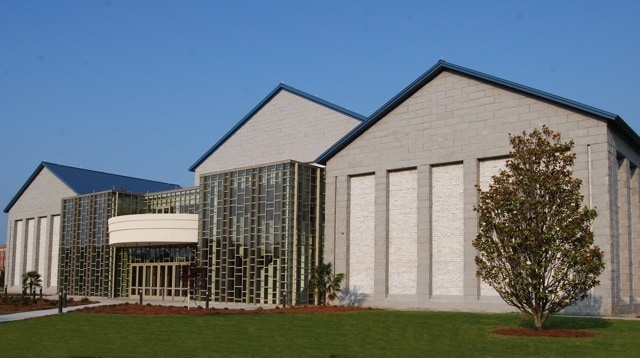 Front of Performing Arts Center